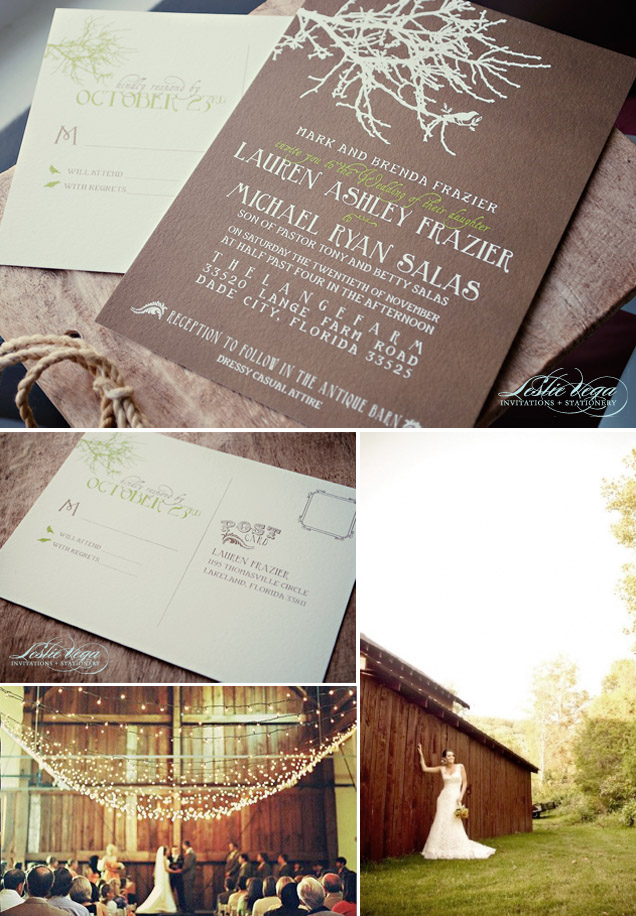 invitations for a wedding in a barn leslie vega design brand design for photographers and small businesses