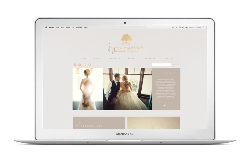 Jayme Morrison ProPhoto Web Design