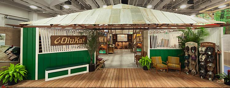 Olukai Trade Show Environment