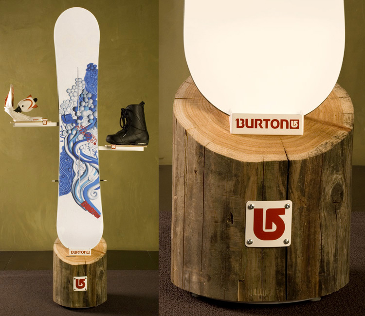 Burton Product Display