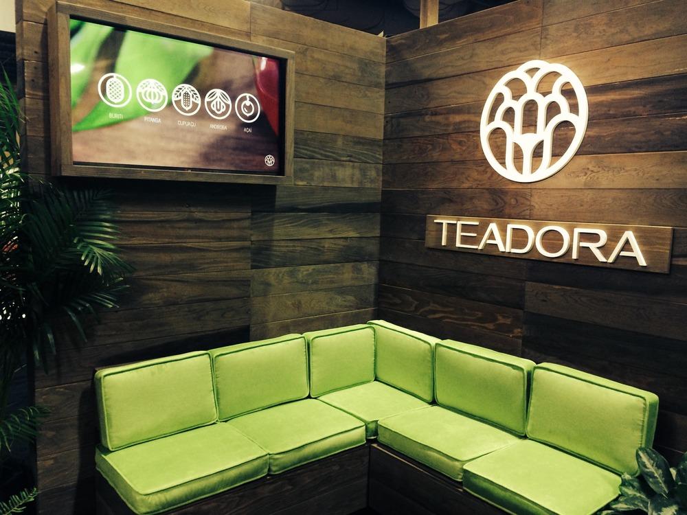 Teadora Trade Show Booth 3