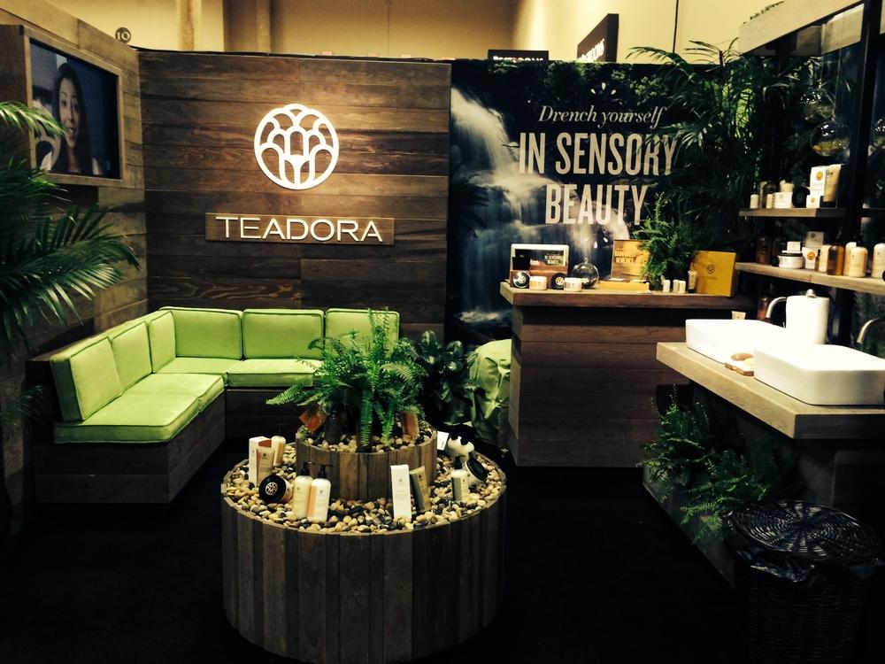 Teadora Trade Show Booth 2