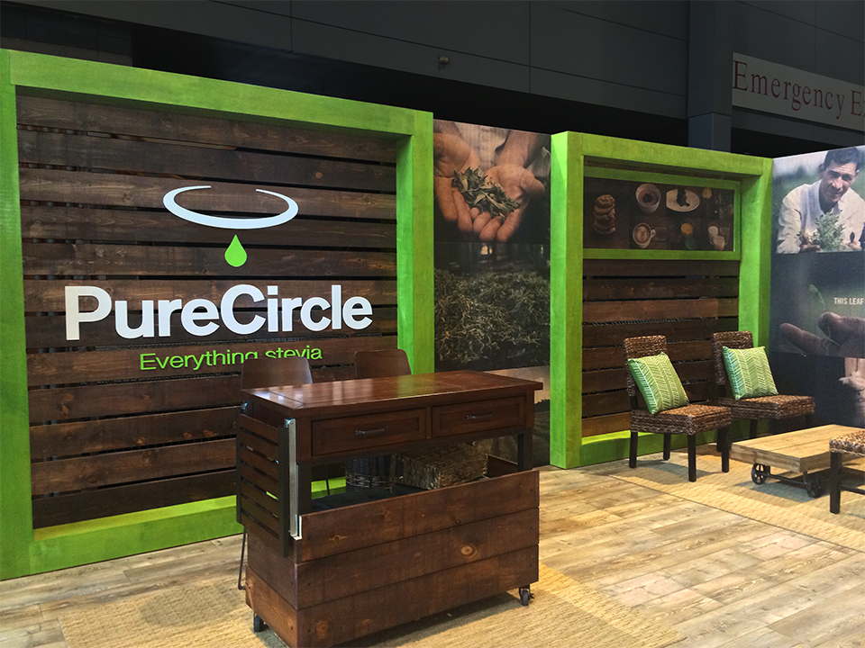 Wooden Exhibition Booth : Pure circle trade show booth — dept of energy