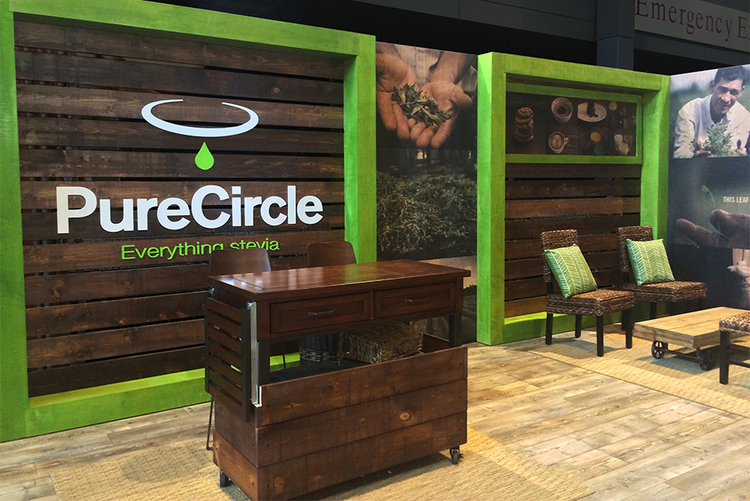 PURE CIRCLE TRADE SHOW & Office environments