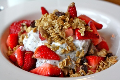 Strawberry Date Granola