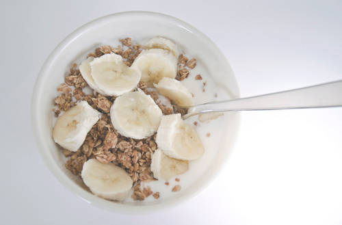 Banana Honey Granola