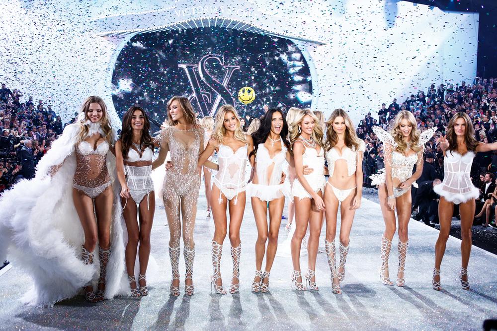 Photo via: VS All Access Victoria's Secret Fashion Show