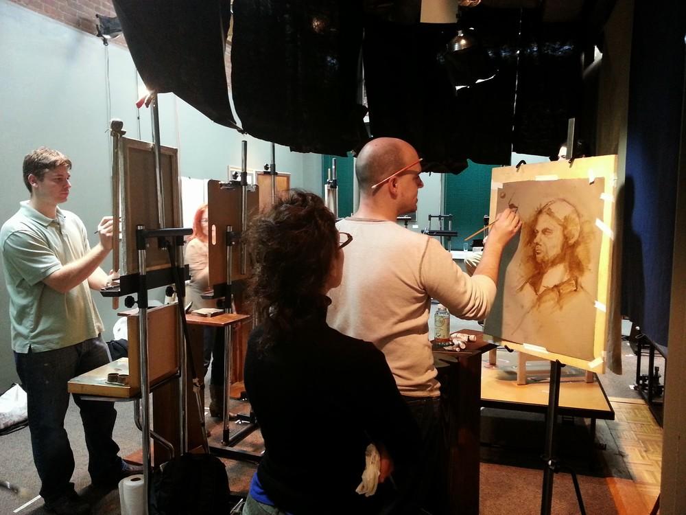 Portrait Painting Class