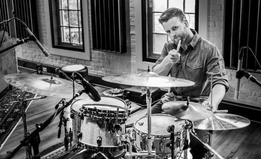 Dustin Love on drums.