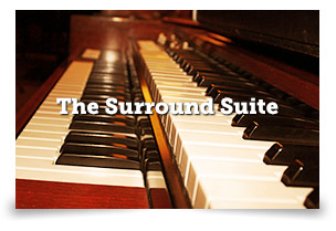 THE SURROUND SUITE Perfect for mixing your record or film! Other uses include:   + Guitar re-amping + Vocal and guitar overdubs + ADR + Music for TV and Film + Conversions - anything requiring surround mixes + Piano overdubs + A great writing room!  LEARN MORE