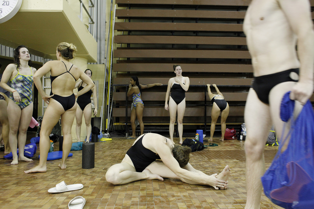 Swim tryouts, Dalhousie University
