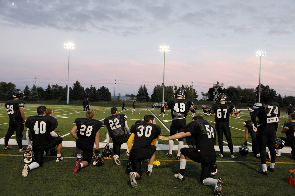 Warrior football, Waterloo University