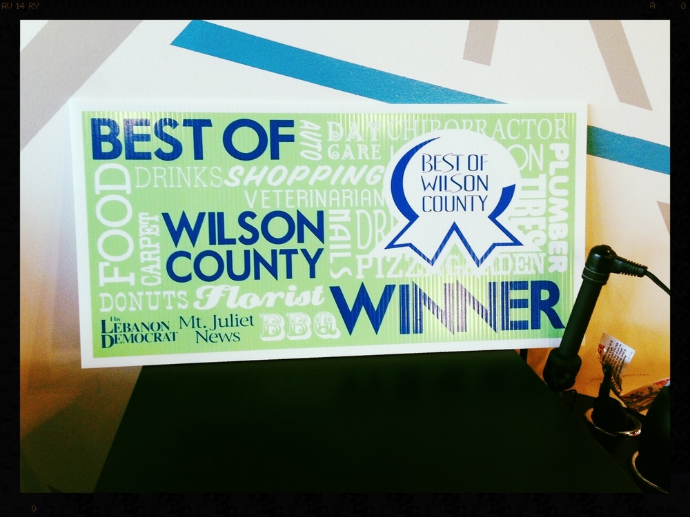 Best of Wilson County 2013