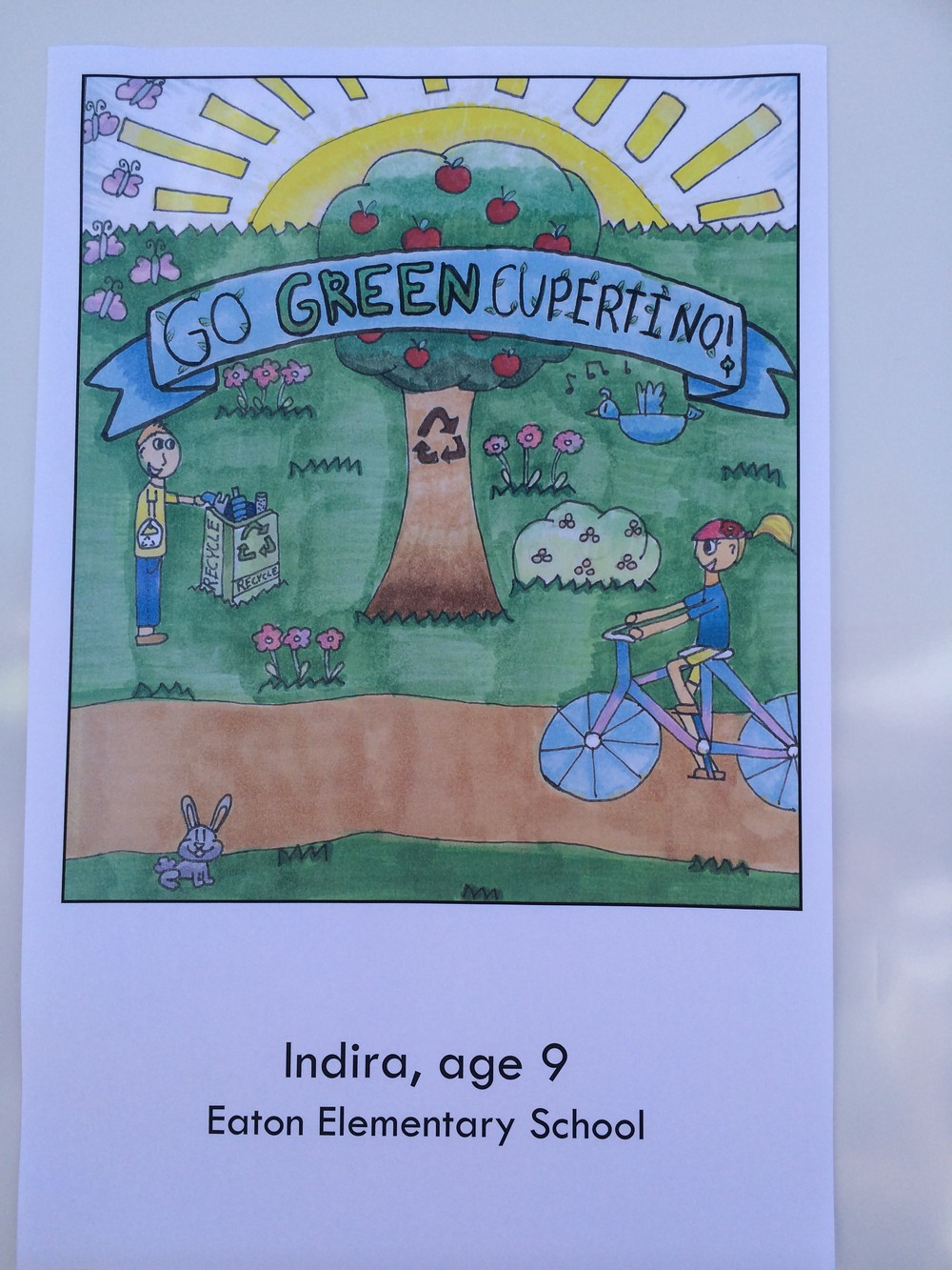 IndiraAbhyanker-2014-Cupertino-ReusableBagCompetition.JPG