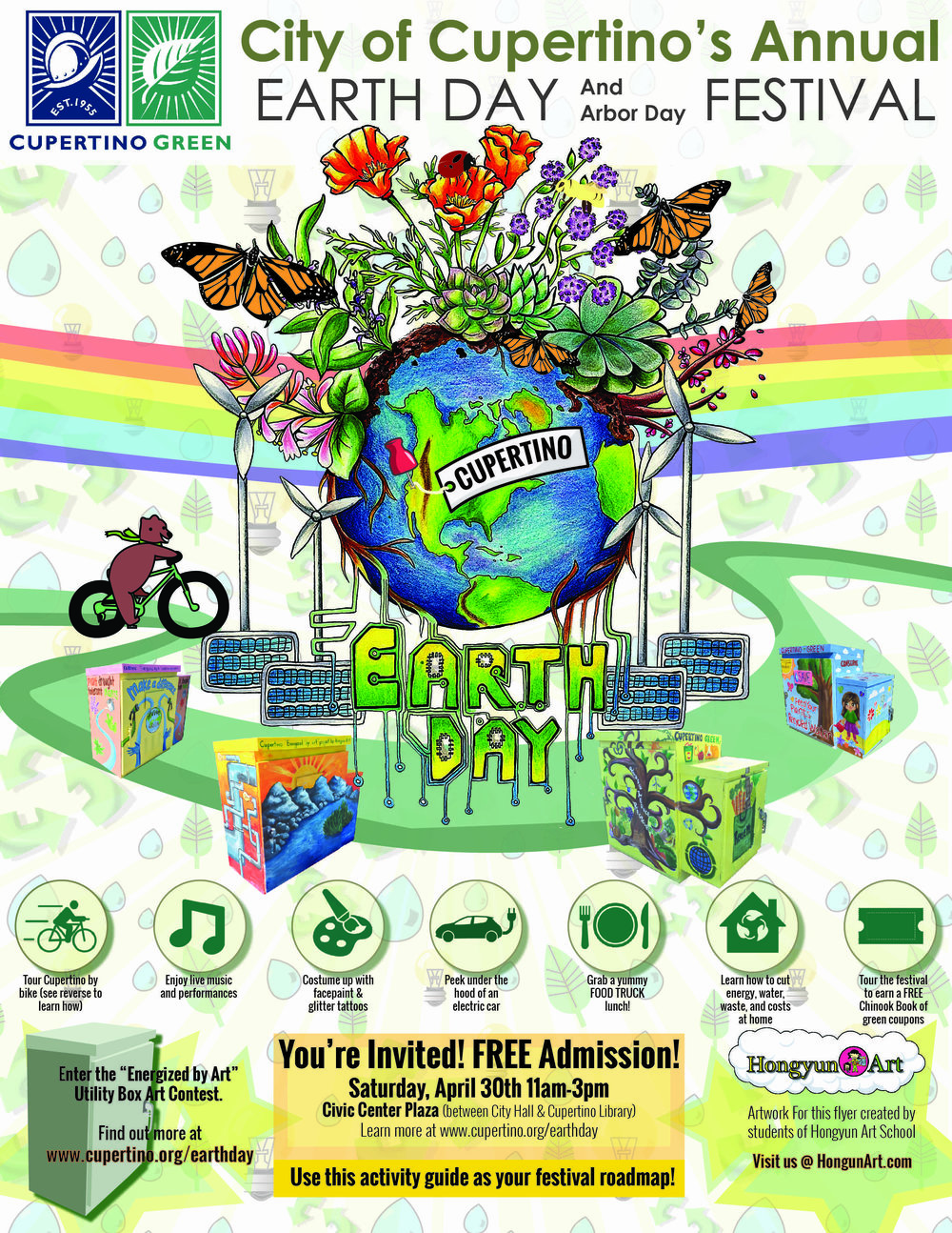 2016 Cupertino Earth Day Announcement