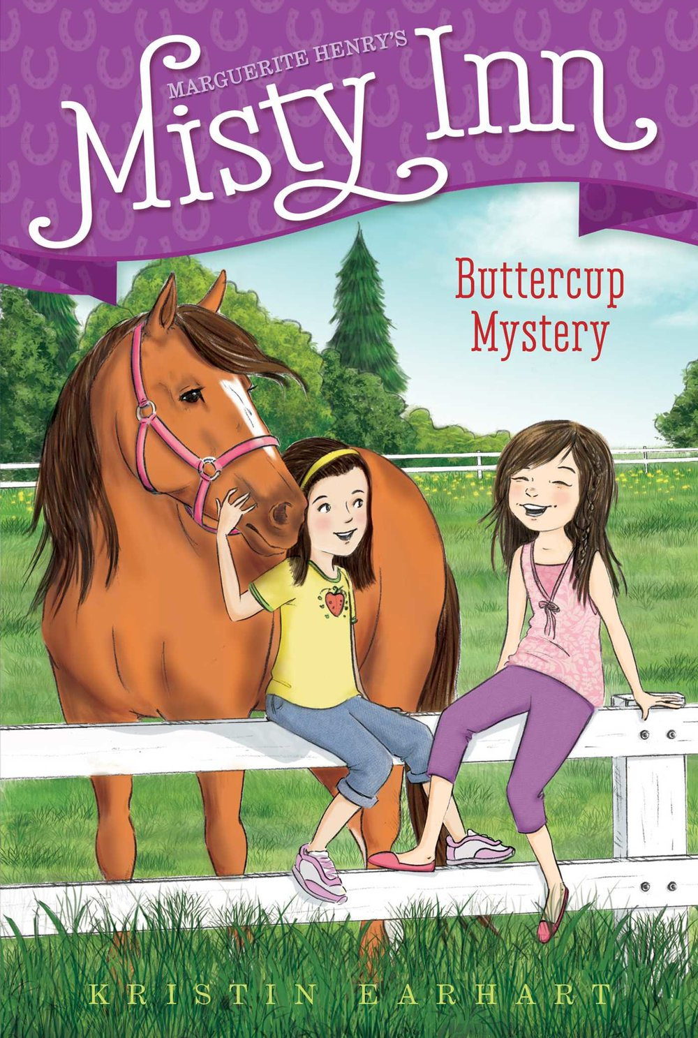 Buttercup Mystery - The Dunlap siblings must solve the mystery of a sick pony on Chincoteague Island in this second book of a chapter book series inspired by Marguerite Henry's Misty of Chincoteague.There's a sick horse at Misty Inn! Something Buttercup is eating—or being fed—is making her ill. Can Willa and Ben solve this pony problem and help Buttercup feel healthy again?