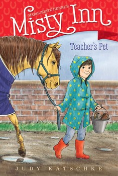 Teacher's Pet - A back-to-school assignment has Willa scrambling in this seventh book of a chapter book series inspired by Marguerite Henry's Misty of Chincoteague.Willa just started school again and everyone in her class has come up with clever ideas for their back-to-school projects. Even her best friends Lena and Sarah are preparing something different: a Double-Dutch demonstration. At first Willa thinks her father's fabulous raspberry torte will be perfect, but at the last minute, the raspberries don't cooperate! Just in the nick of time she realizes the best idea is in her own barnyard: Starbuck! She'll show her class how to groom him, something she's an expert at!