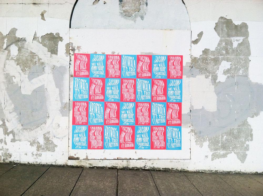 Tacoma Art Walk posters