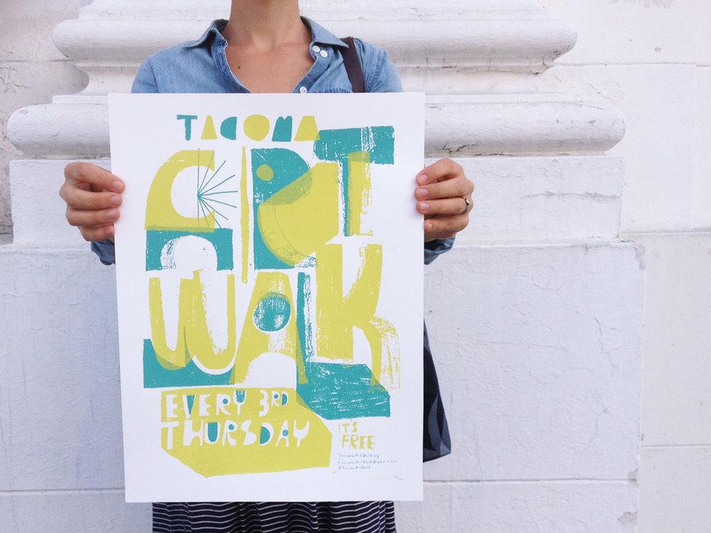 Poster Design for Tacoma Art Walk