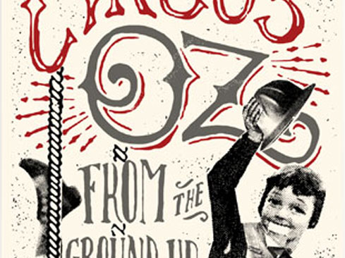 poster design for Circus Oz