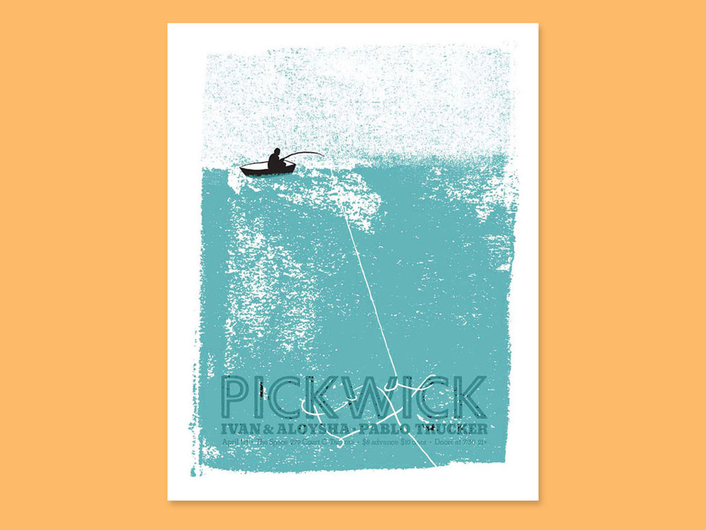 poster design & illustration for Pickwick