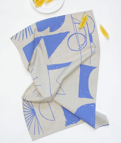 handmade organic tea towel