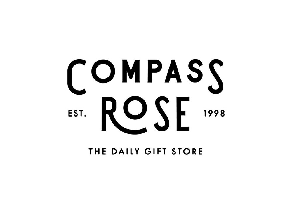 logo and branding for Compass Rose