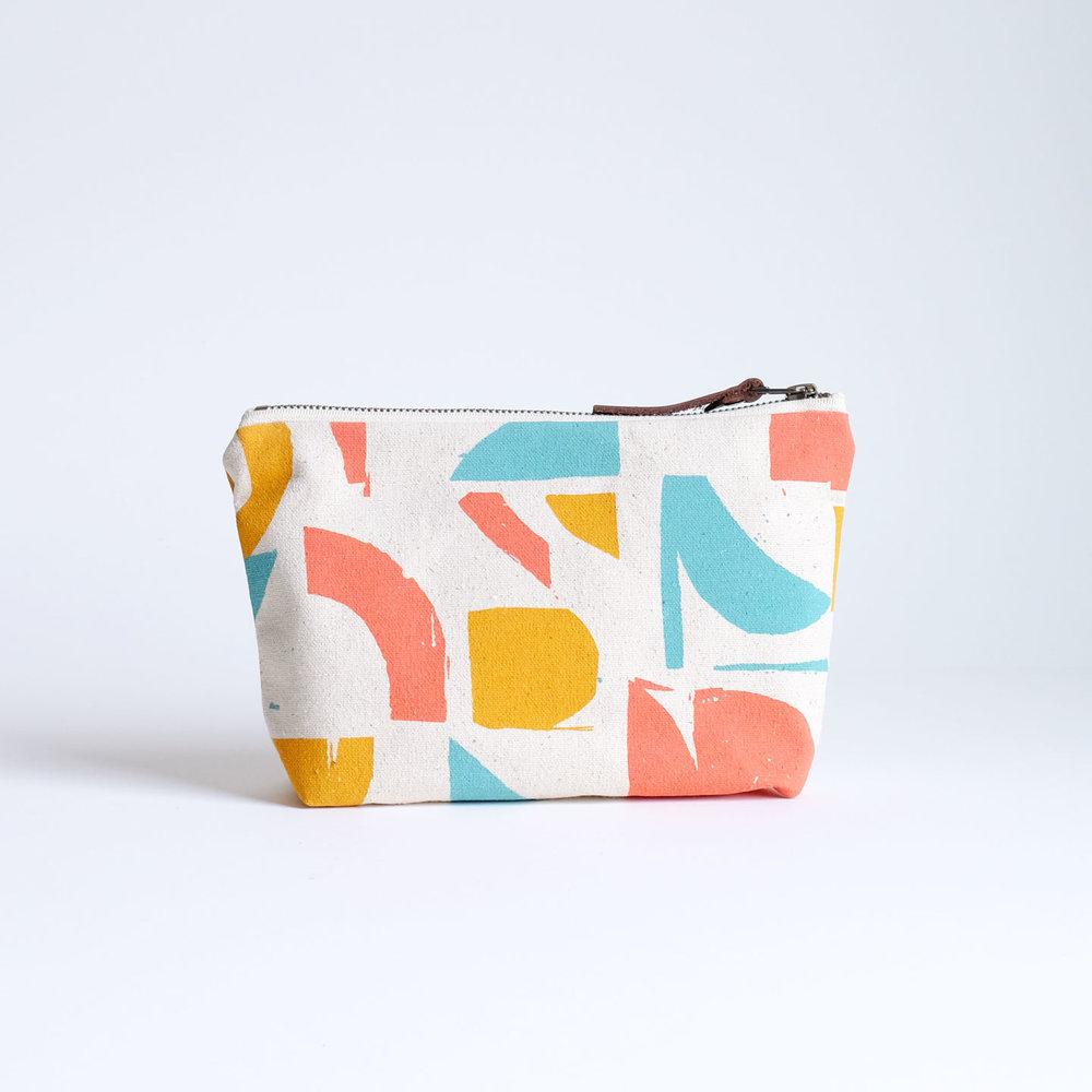 handmade zip pouch