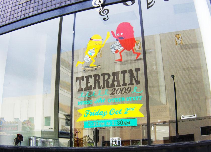 Terrain branding