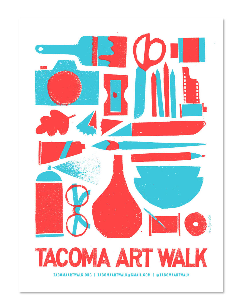 Tacoma Art Walk branding
