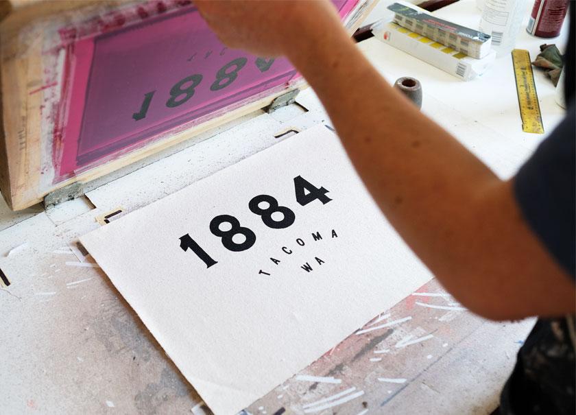 1884 branding logo