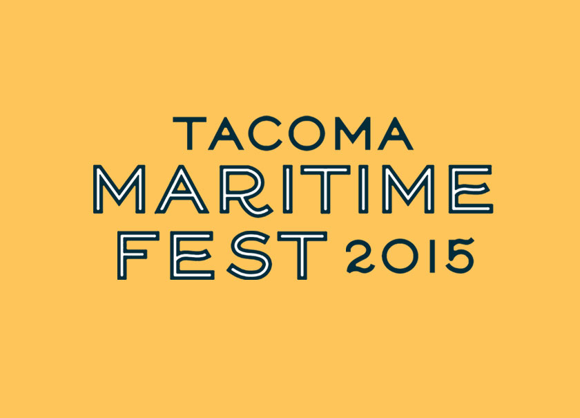 Tacoma Maritime Fest branding Year Round Co.