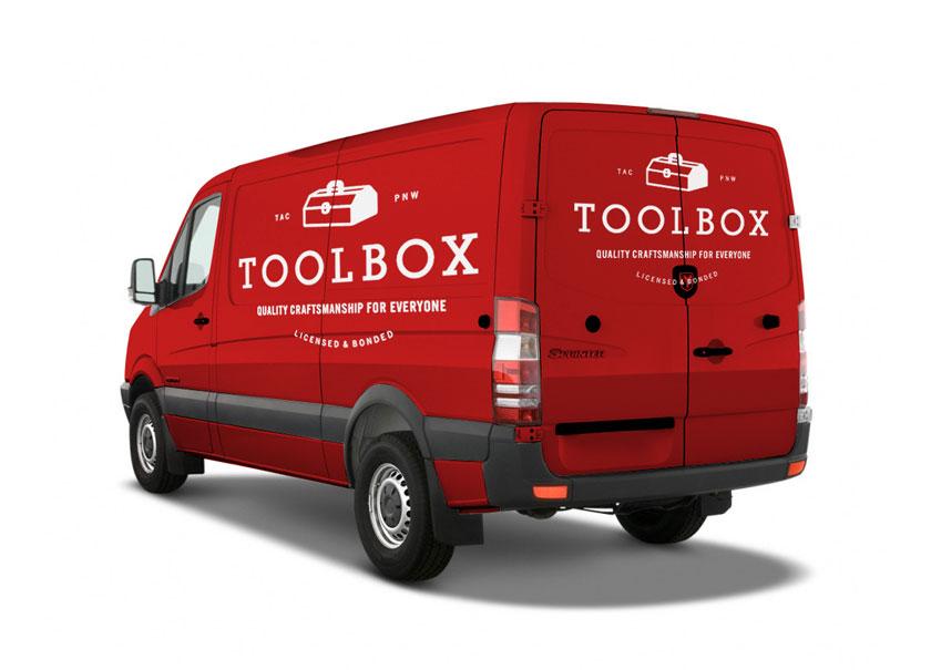 Toolbox logo & branding