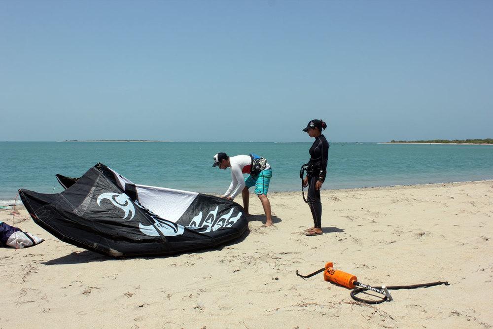 Learn Kitesurfing in India