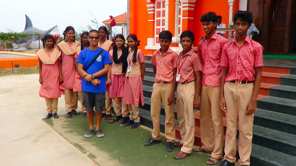 The team from Raja School