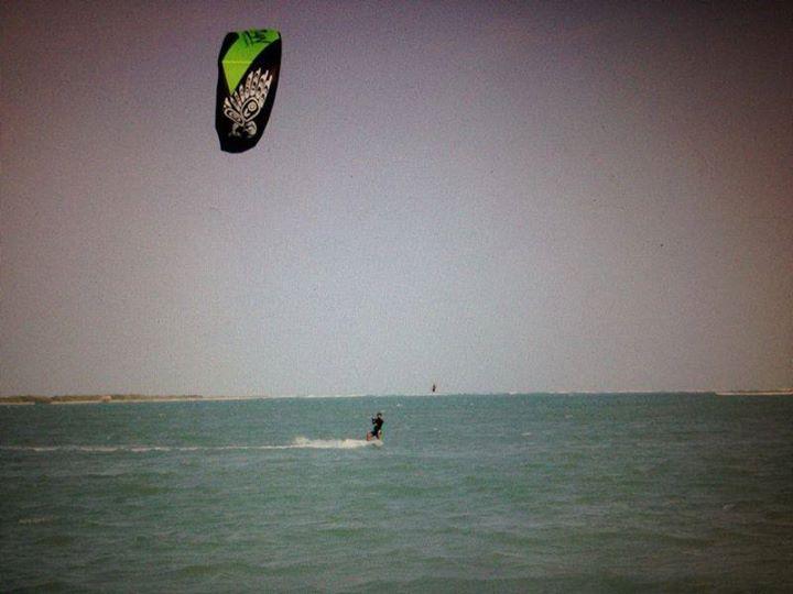 Govinda Hirvale in Tamil Nadu- Kitesurfing
