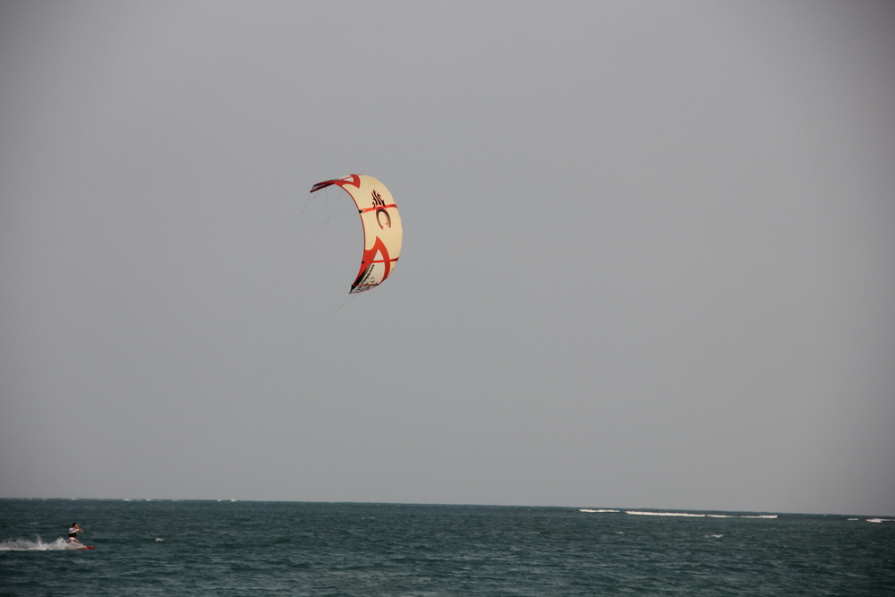 Kitesurfers from Bangalore visit us for a weekend get-away