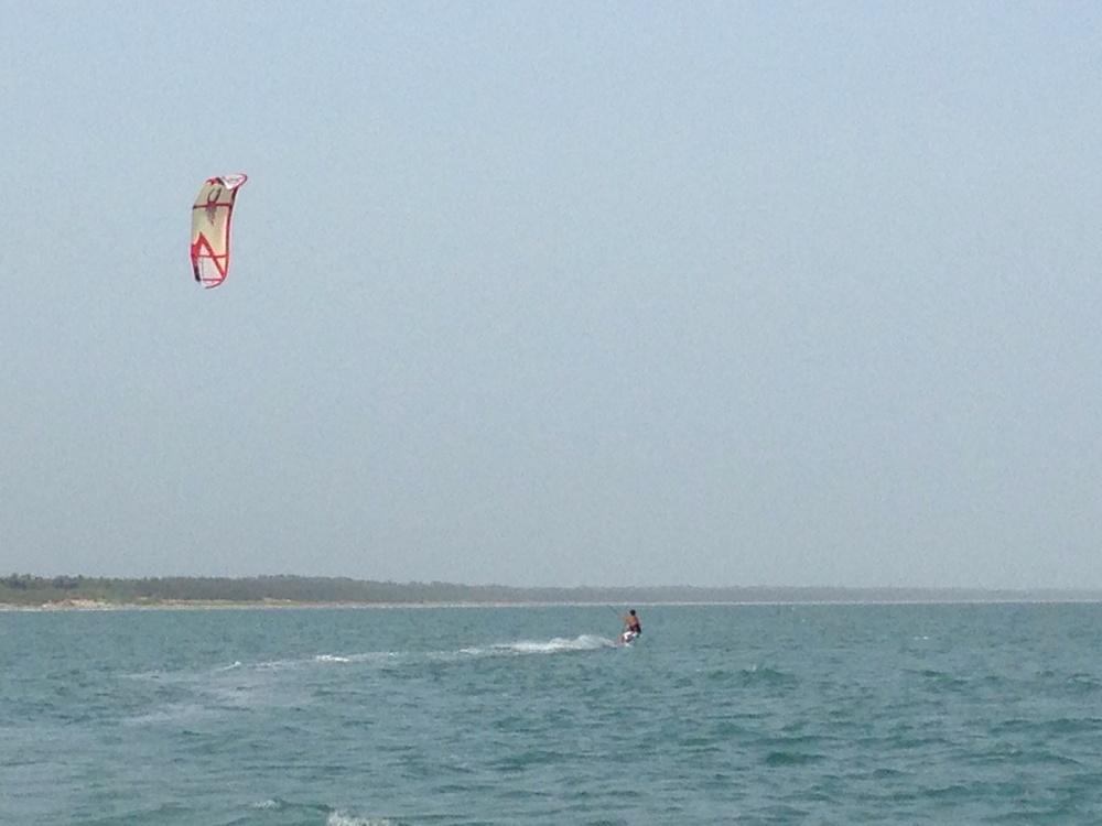 Kitesurfing near Bangalore