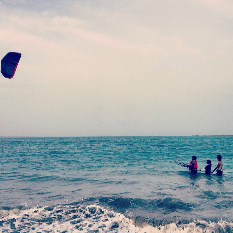 Experience the power of wind, learn Kitesurfing