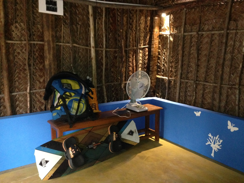 Rustic residency for long term Kitesurfers in India on a Kitesurfing holiday