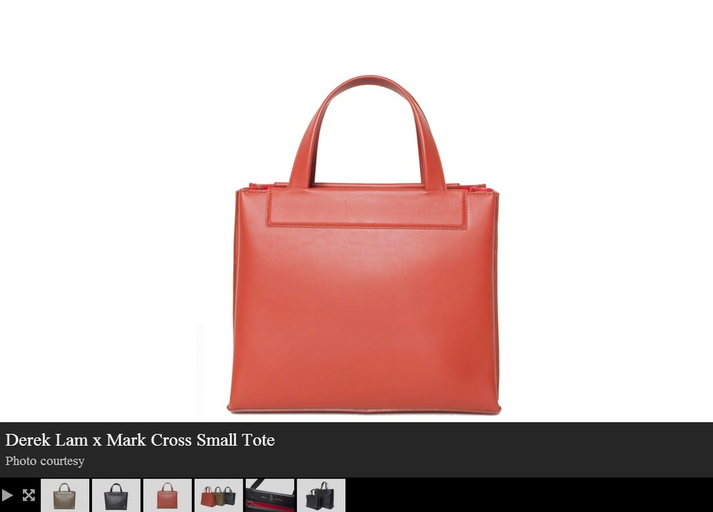 Fashion Week Daily.com - August 25, 2014 - Derek Lam and Mark Cross Pair Up on A Classic Handbag Design Image 3.jpg
