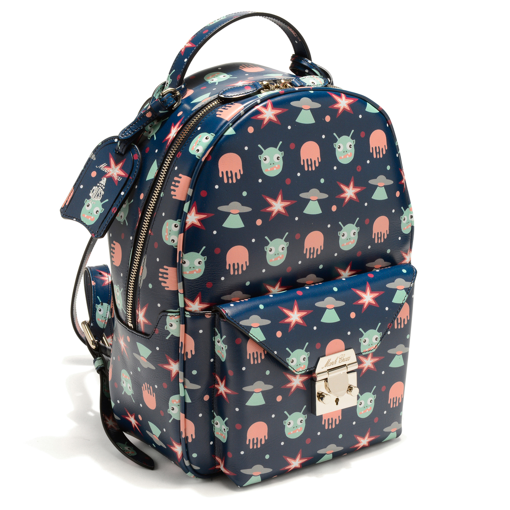 Baby Backpack - Alien Print