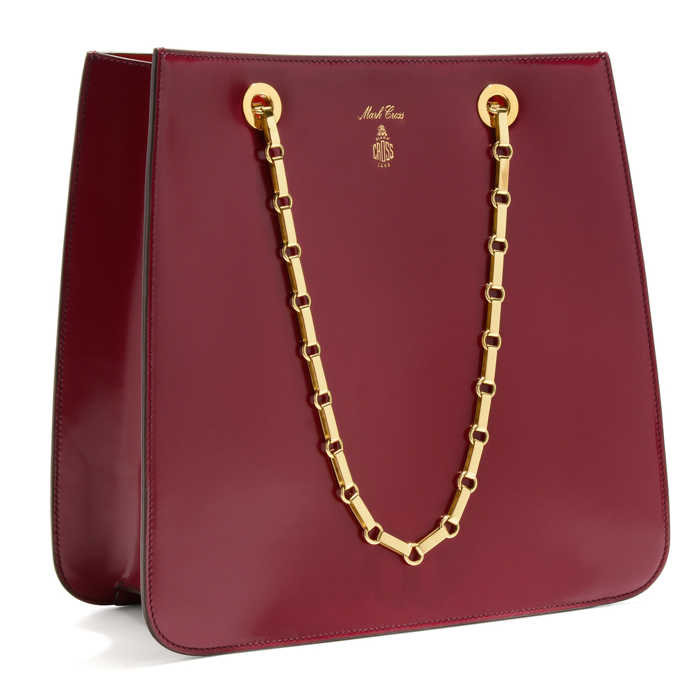 Francis Chain Flap - Plum