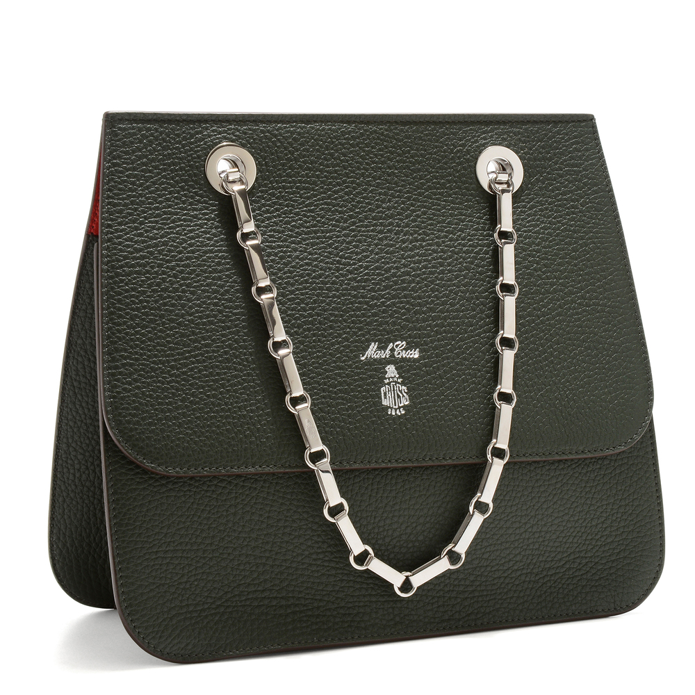 Francis Chain Flap - Evergreen