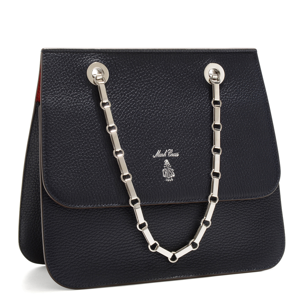 Francis Chain Flap - Black