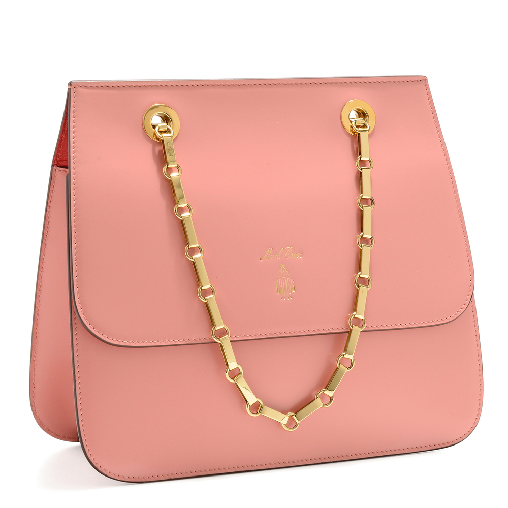 Francis Chain Flap - Antique Rose