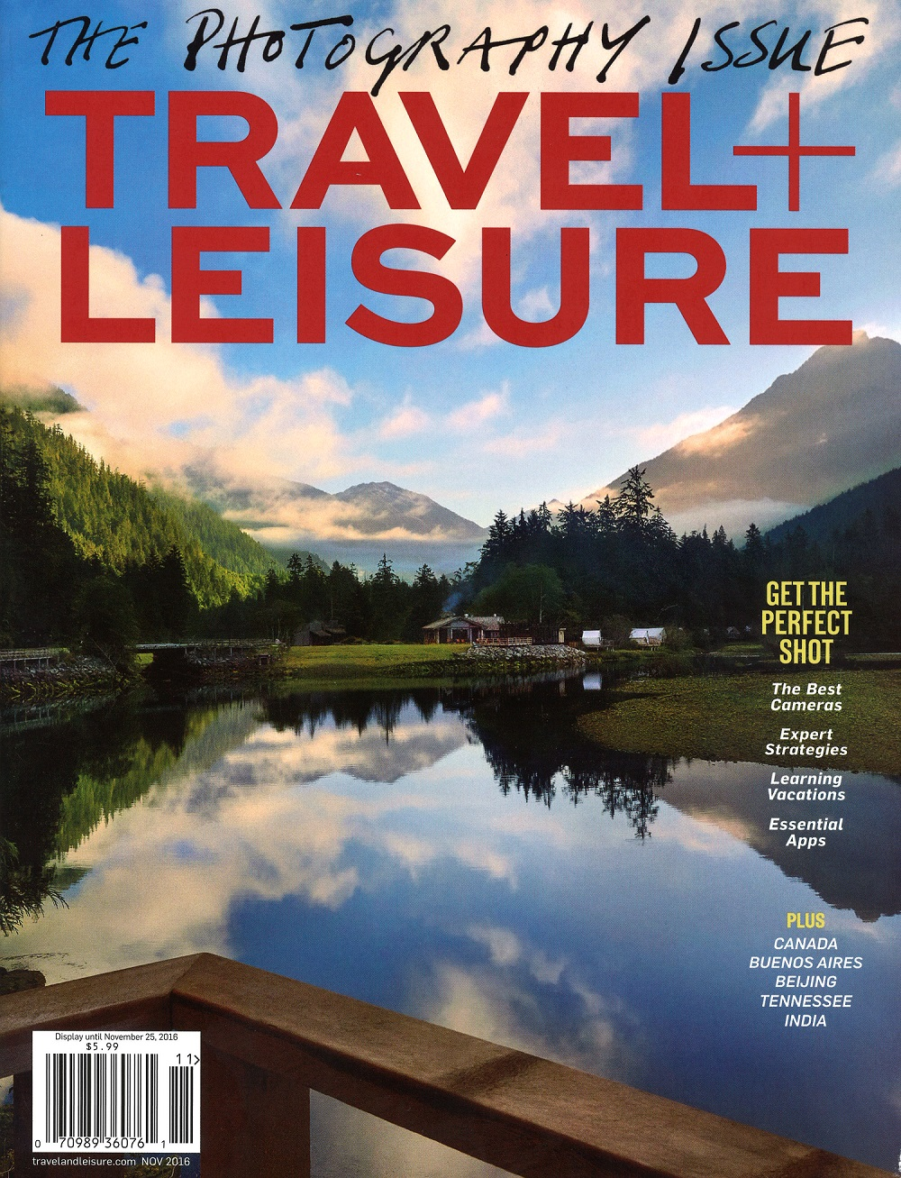 Travel + Leisure - November 2016 - Cover.jpg