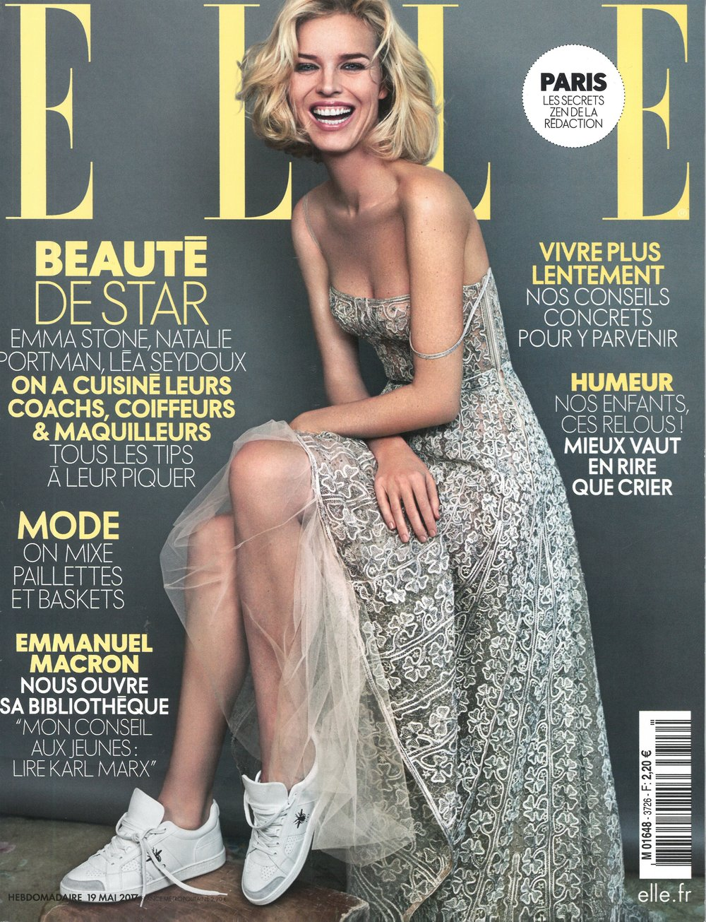 Elle France, May 18th, Cover.jpg