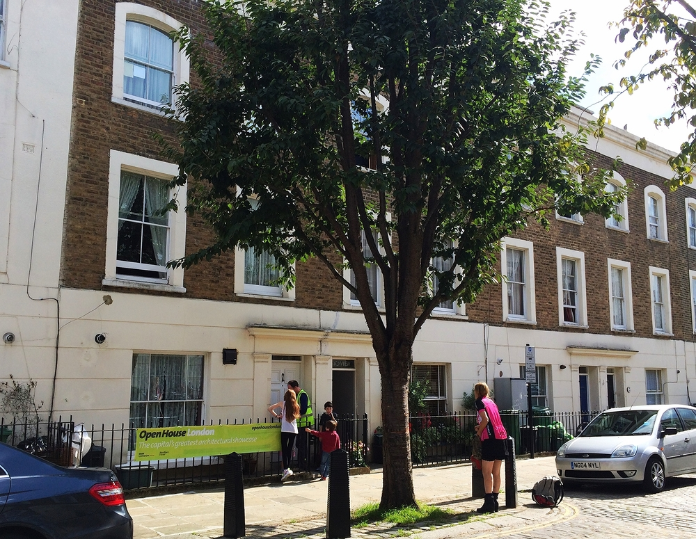 London social housing unit built in 1870 that has achieved a 77% greenhouse gas emission reduction