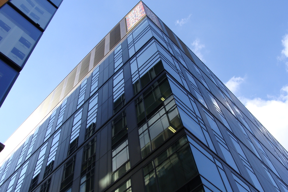 London office building that achieved sustainability performance in the top 1% of UK non-domestic new buildings